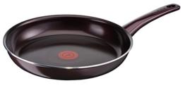Tefal C40208 Dark Ruby Pfanne (32 cm, keramikversiegelt, Aluminium) aubergine - 1