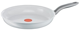 Tefal C90806 Ceramic Control Induction Pfanne 28 cm, weiß - 1