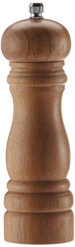 Kesper 13660 Pfeffermühle H: 16,5cm D: 5cm, helles Hartholz - 1